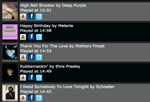Embed Shoutcast, Icecast and Radionomy widgets for your Now Playing and Recently played songs